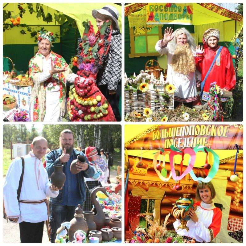 10 и 11 сентября в Лебедянском районе прошел фестиваль народного творчества Яблочный край, ягодный рай