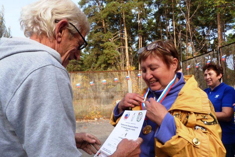 Ольга Кособокова - чемпионка среди женщин-ветеранов