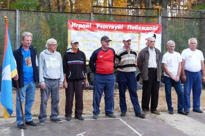 лебедянская команда стала чемпионом Липецкой области по городошному спорту
