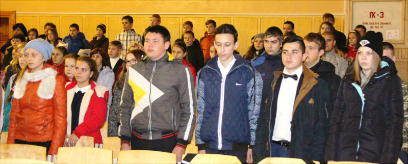 В селе Большое Попово Лебедянского района состоялось торжественное посвящение в кадеты