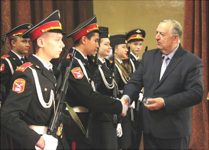 кадеты БПоповской школы