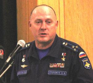 Герой Российской Федерации полковник Сторожук