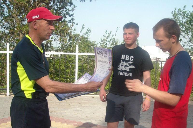 преподаватель Лебедянского педагогического колледжа Сергей Васильевич Кеделидзе