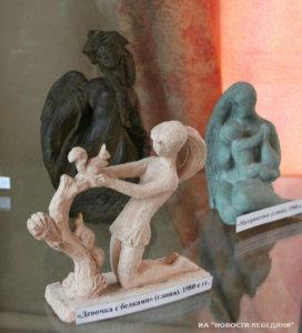 в лебедяни открылась выставка работ скульптора валерии морозовой