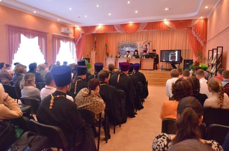 В Лебедяни прошли Первые Силуановские чтения