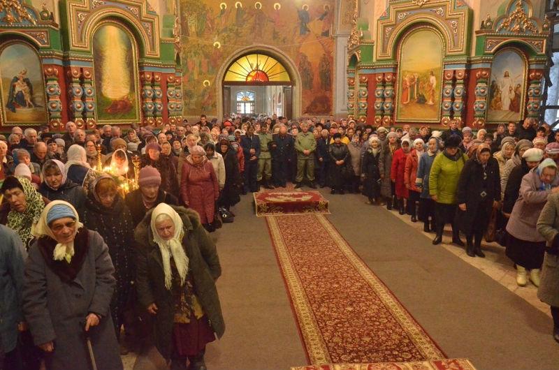 В Лебедянском Казанском соборе отметили престольный праздник