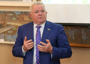 Н.И. Борцов принял участие в праздновании 40-летия лебедянского музея