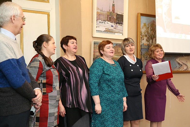 коллектив лебедянского краеведческого музея отметил 40-летие возрождения музея