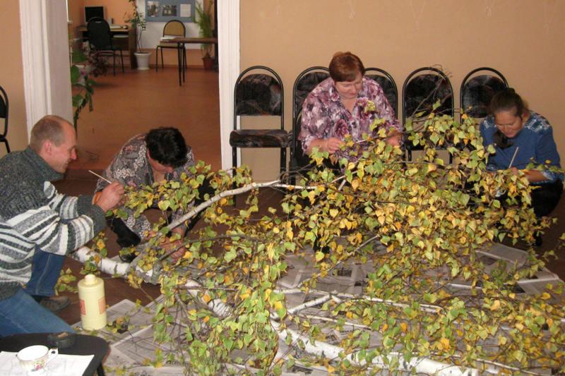 в Лебедянском краеведческом музее воссоздали уголок природы