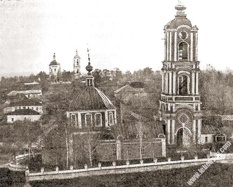 церковь Рождества Богородицы в Лебедяни (фото 1910-х годов)