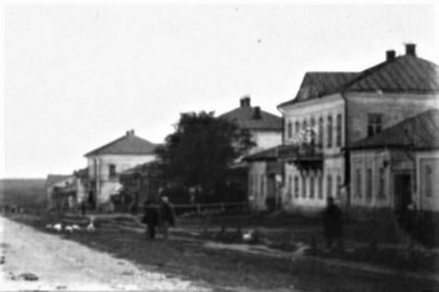 Дом Дурасова в городе Лебедянь. Фото начала 20 века.