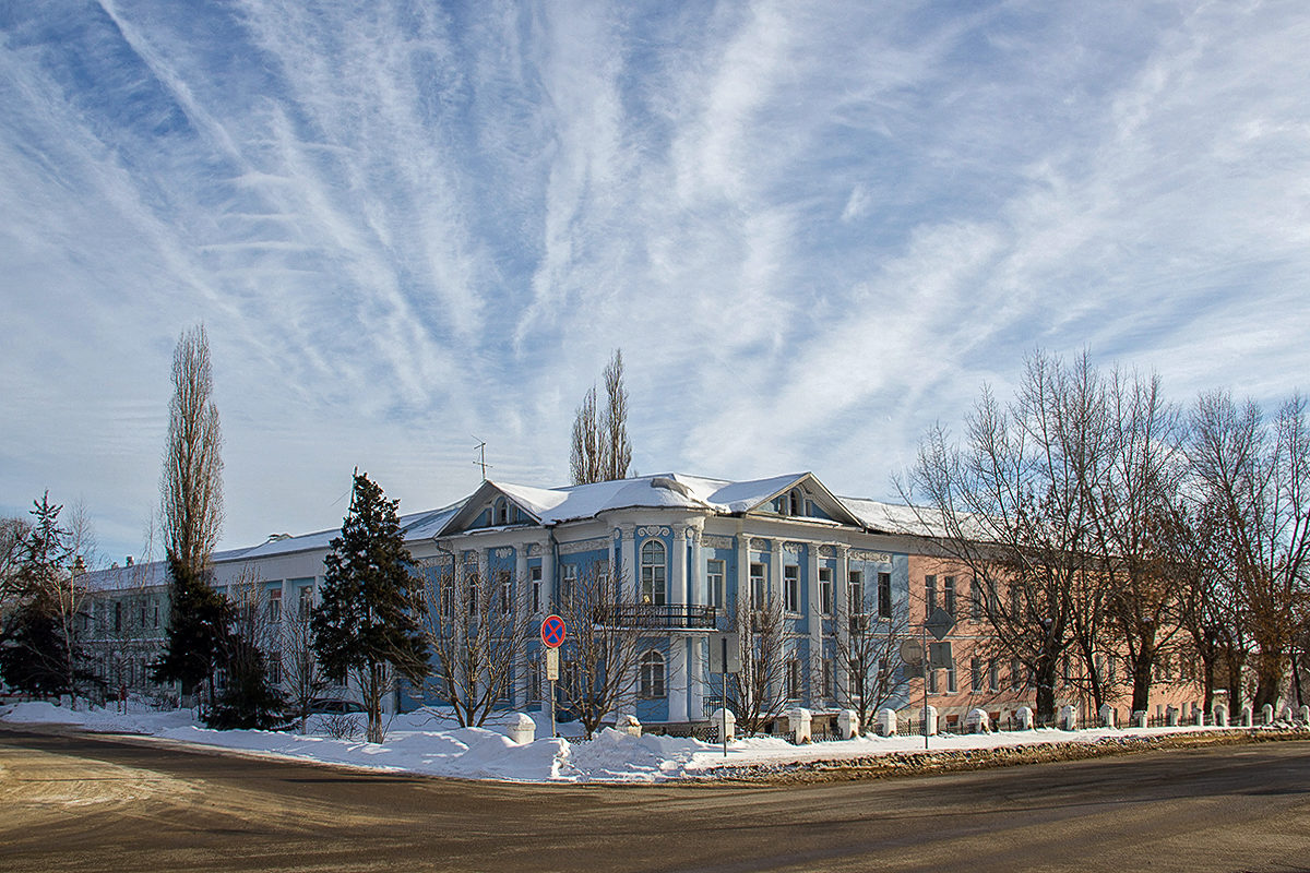 Здание земской больницы в г.Лебедянь Липецкой области
