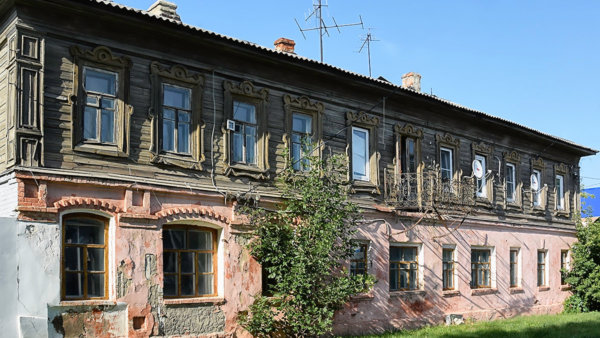 Дом купца И.И. Фудельмана (г. Лебедянь, ул. Почтовая, 8)