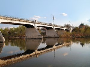 Казённый мост через р. Дон (1910 г.).