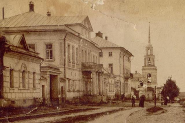 Дом Игумновых в Лебедяни в начале 20 века