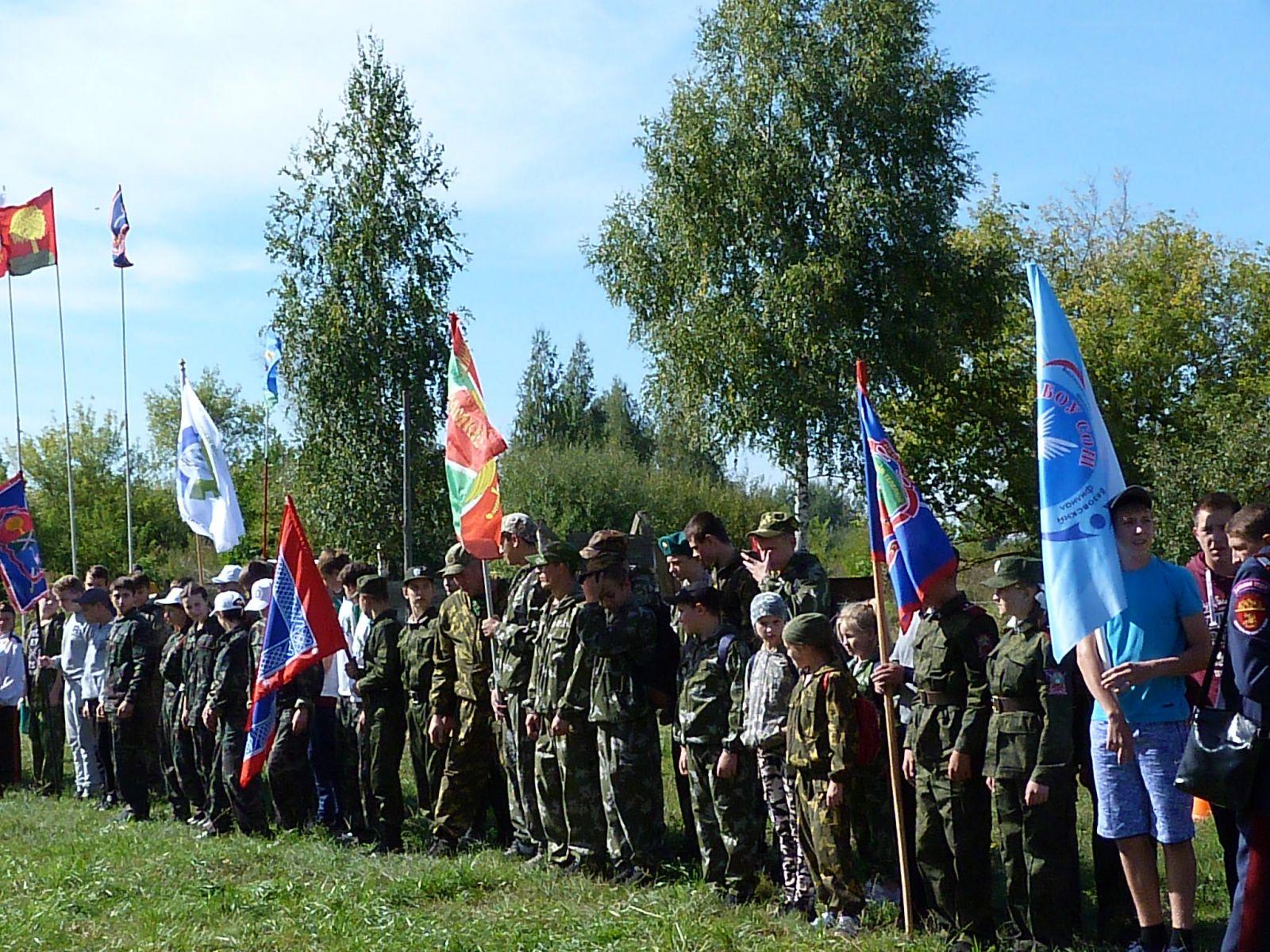 Полевой выход казачьей молодёжи Липецкой области