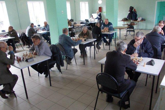 Областное первенство по шахматам среди ветеранов
