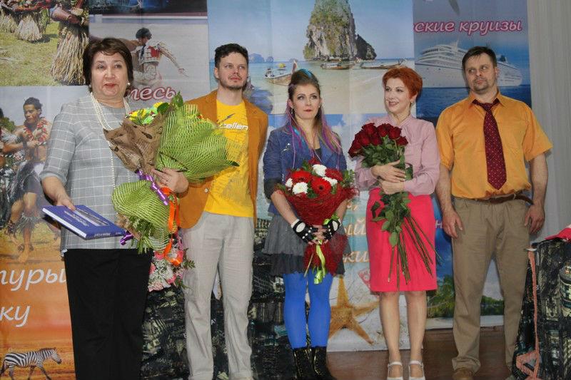 московские артисты в ГДК