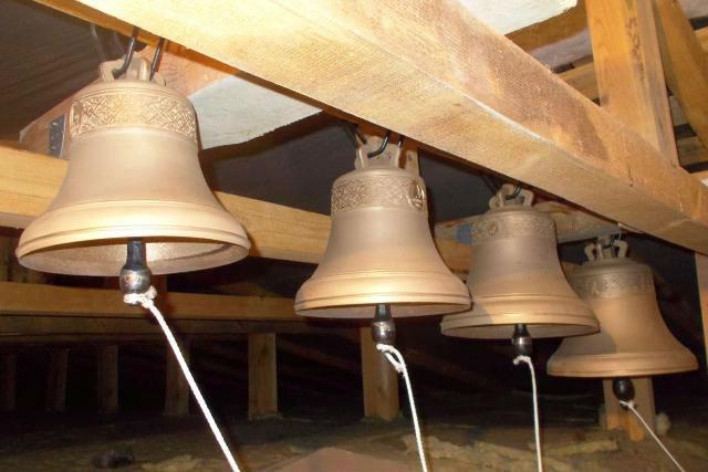 Звонница Никольской церкви в Лебедяни