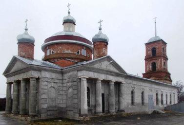 Никольская церковь в Лебедяни
