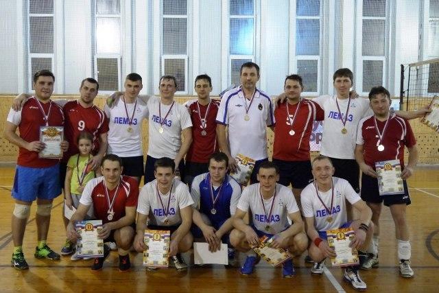 Победители районного первенства по волейболу 2017 года