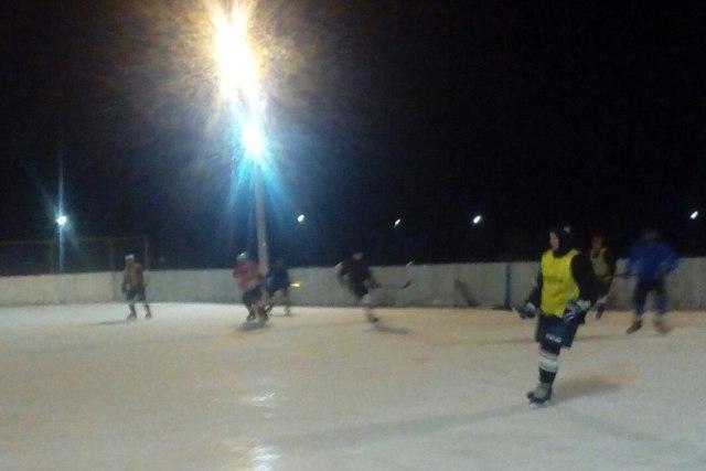 Вечерняя тренировка в Лебедяни