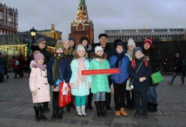 А.Н. Кремнёв с детьми