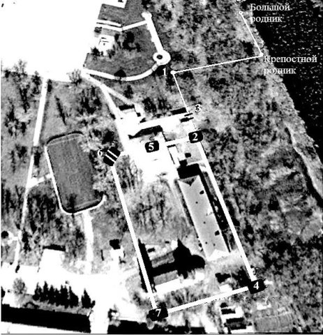 Привязка Лебедянского острога на местности