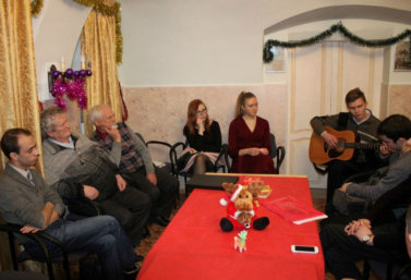 встреча творческой молодежи