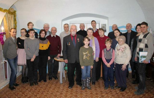 Участники презентации книги В.Акимова