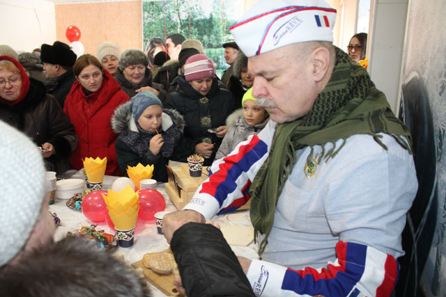 Владимир Борев в Лебедяни