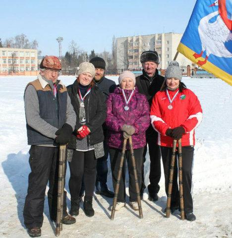 Зимнее первенство по городошному спорту
