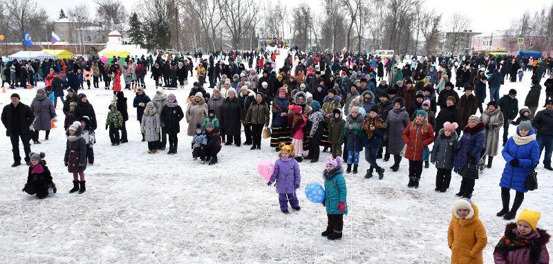 Масленица и Проводы Зимы в Лебедяни в 2018 году