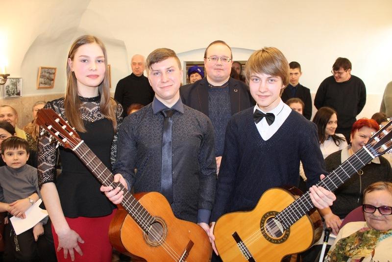 Гитарный концерт в Доме Игумновых