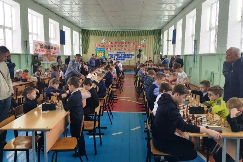 Шахматный турнир Лебедянского района имени Юрия Борцова