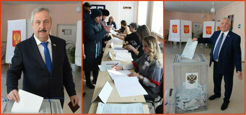 Выборы Президента 2018 в Лебедяни