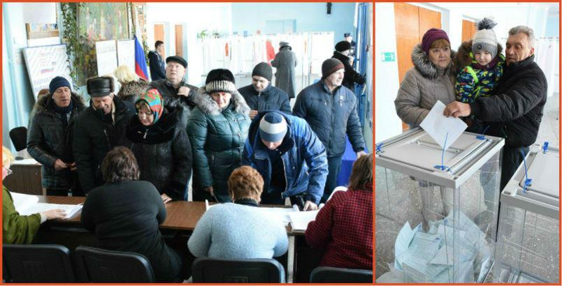 Выборы Президента 2018 в Троекурово