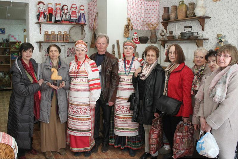 Московские гости в Доме ремесел