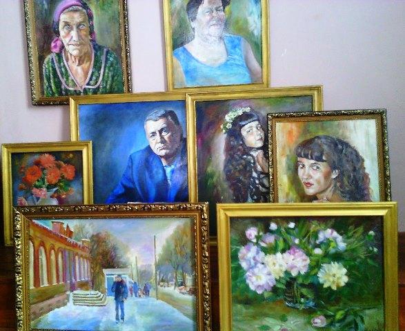 выставка Н. Шаровской