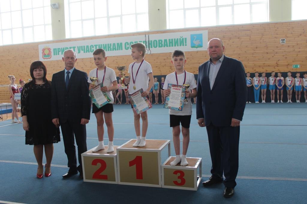 Районное первенство по спортивной гимнастике (апрель 2018)