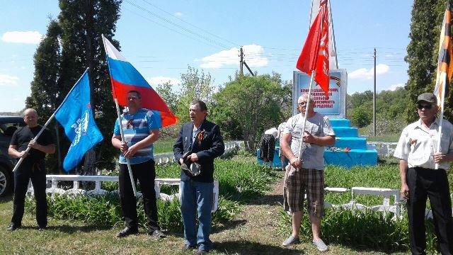 День Победы 2018 в селе Нижнее Брусланово