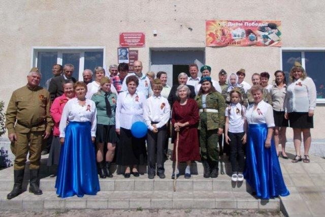 День Победы 2018 в селе Новое Ракитино