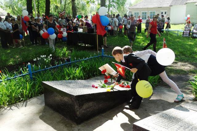 День Победы 2018 в селе Шовское
