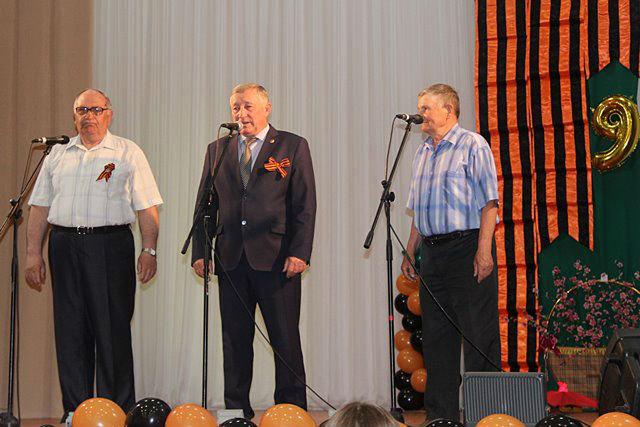 праздничный концертк Дню Победы в Лебедяни
