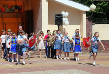 игровая программа для детей к Дню Победы в Лебедяни