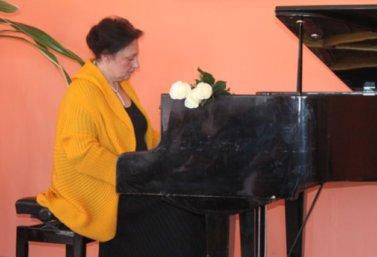 Концерт пианистки Нанули Немсицверидзе в Лебедяни