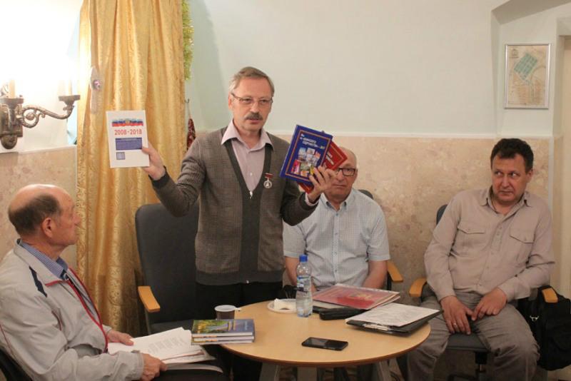 Презентация сборника «Мы из «Воинского содружества -2018» в Лебедяни