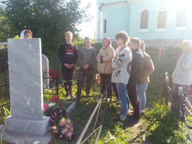 Воспитанники Лебедянского детского дома посетили село Волотово