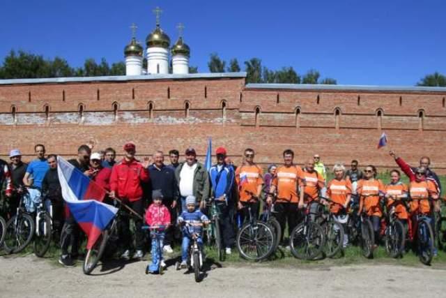 Велопробег в Лебедяни (26 мая 2018)