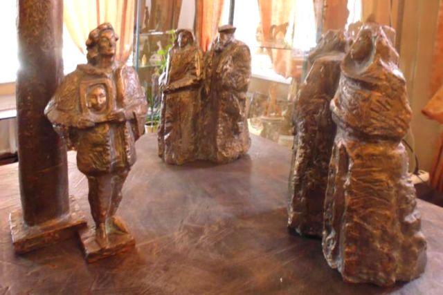 выставка графики и скульптур в Лебедяни